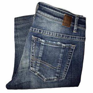 BKE Stella, Distressed Bootcut Jeans 30R 31
